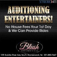 Auditioning Entertainers At Blush!