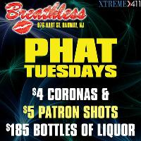 Phat Tuesdays at Breathless New Jersey