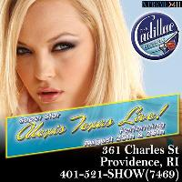 Alexis Texas Live Aug 25th & 26th at The Cadillac Lounge!