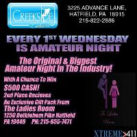 Amateur Night Every 1st Wed. of Each Month! $500 CASH PRIZE!