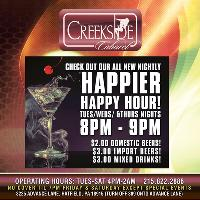 Come Chill w/ Us For Extended Happy Hour!