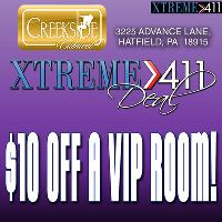 $10 Off A VIP Room! Show To Hostess Or Manager!