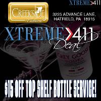 $15 Off Top Shelf Bottle Service! Show To Hostess Or Manager!