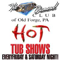 Only Club in Northeast PA With All Nude Hot Tub Shows!