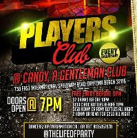 Players Club every Wednesday at Candy Club FL