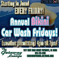 Car Wash at The Getaway Lounge! Every Friday!