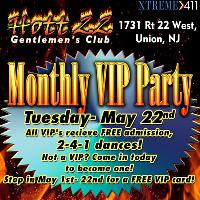 Hott 22's Monthly Party! Tuesday- May 22nd
