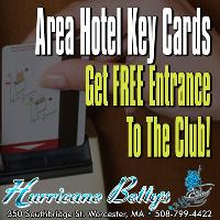 Area Hotel Key Cards Get You FREE Entrance At Hurricane Betty's!