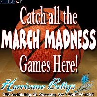 March Madness at Hurricane Betty's