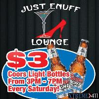 Every Saturday Coors Light Specials!