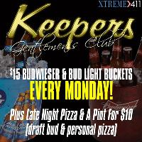 $15 Bud Buckets Every Monday At Keepers In Milford CT!