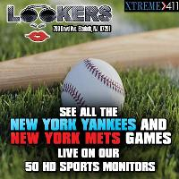 All the New York Games LIVE at Lookers NJ