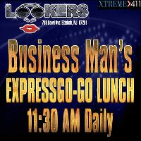 GO-GO LUNCH at Lookers NJ