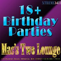 Coming of Age Party at Macs Two Lounge in Billerica, MA