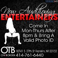 Now Auditioning Entertainers at On The Border in Franklin WI