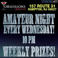 Amateur Night Every Wednesday at Obsessions Club in NJ