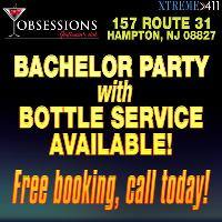 FREE Party booking at Obsessions! Call TODAY!