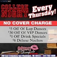 College Night Every Thursday!