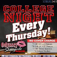 College Night- Every Thursday at Odyssey!