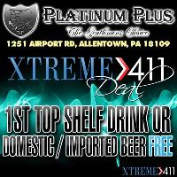 1st Top Shelf Drink Or Domestic / Import Beer Free! Show To Bartender!