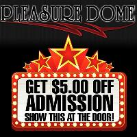 $5.00 Off Admission Show At The Door!