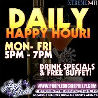Hit Us Up For Happy Hour!