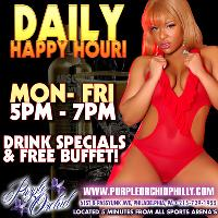 Happy Hour Mon. - Fri.. Join Us!