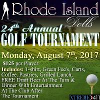 24th Annual Golf Tournament Mon Aug 7th At Rhode Island Dolls!
