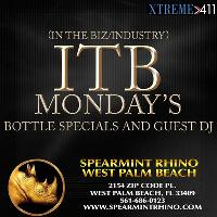 ITB Mondays at Spearmint Rhino in West Palm