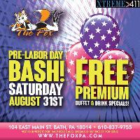 Pre Labor Day BASH! Don't Miss It! August 31st