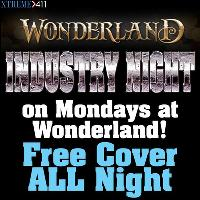 Industry Mondays at Wonderland Rhode Island with FREE cover!