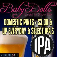 Full Bar & Drink Specials Daily!